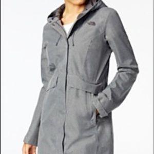 The North Face gray parka jacket, size S, NWT